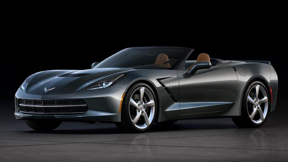 Chevy Unveils 2014 Corvette Stingray Convertible