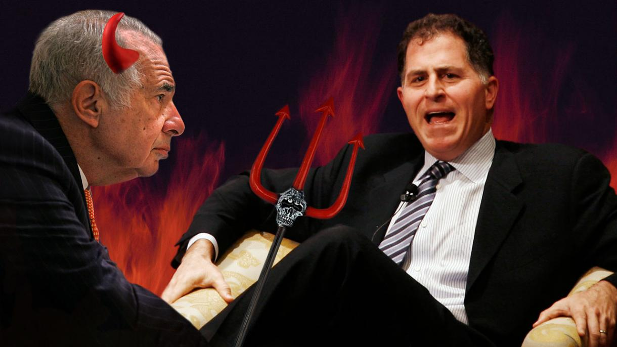 Michael Dell Discovers A New Ring Of Hell: Carl Icahn
