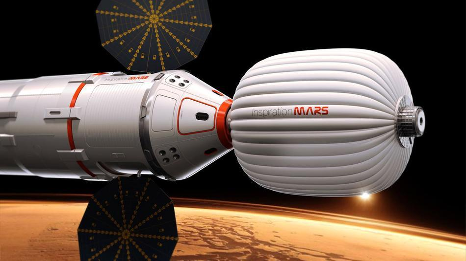 Married Couple Wanted for Private Mars Voyage in 2018